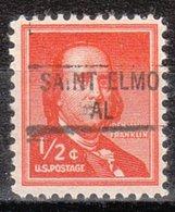 USA Precancel Vorausentwertung Preo, Locals Alabama, Saint Elmo 841 - Vereinigte Staaten