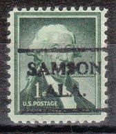 USA Precancel Vorausentwertung Preo, Locals Alabama, Samson 716 - Etats-Unis