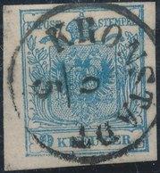 Austria 1850 - Nᴼ 5 III - KRONSTADT - 1850-1918 Empire