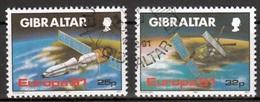 Gibraltar Mi 613,614 Europa Cept 1991 Gestempeld  Fine Used - Europa-CEPT