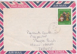 CANADA   ST NICOLAS  TIMBRE CHRISTMAS NOEL  ROIS MAGES - PAR AVION  AIR MAIL VIA AERA - 1952-.... Règne D'Elizabeth II