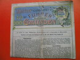 WLTZEK COLORIRTER FUHRER DURCH GMUNDEN - Dépliants Touristiques