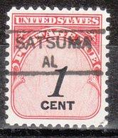 USA Precancel Vorausentwertung Preo, Locals Alabama, Satsuma 835,5 - Vereinigte Staaten