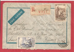 Y&T N°128+130+114   ABENGOUROU Vers  FRANCE 1938  2 SCANS - Côte-d'Ivoire (1892-1944)