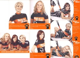CYCLISME:EQUIPE BRAIN WASH FEMININE - Ciclismo