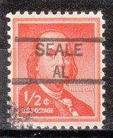USA Precancel Vorausentwertung Preo, Locals Alabama, Seale 835,5 - Etats-Unis
