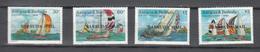 Barbuda Mail 1988,4V In Set,ships.schepen,schiffe,navires,barcos,navi,MNH/Postfris(A3598) - Boten