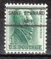 USA Precancel Vorausentwertung Preo, Locals Alabama, Saint Bernhard 846 - Etats-Unis