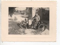 Photo Originale ( Drole De Moto Ancienne ) - Photos