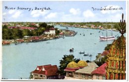 THAILANDE - River Scenery, BANGKOK - Thaïlande
