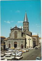 Riom: RENAULT 16, 4, 12, CITROËN AMI 8, DYANE, 2CV, 2x GS, PEUGEOT 404, 504, SIMCA 1500 BREAK - Eglise St Amable - Toerisme