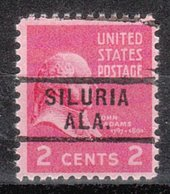 USA Precancel Vorausentwertung Preo, Locals Alabama, Siluria 729 - Etats-Unis