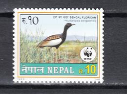 Nepal 2000,1V,birds,vogels,vögel,oiseaux,pajaros,uccelli,MNH/Postfris(A3599) - Vogels