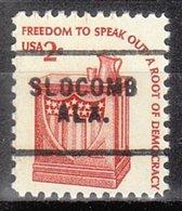 USA Precancel Vorausentwertung Preo, Locals Alabama, Slocomp 703 - Etats-Unis