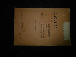 18-12 - Léau Archéologie Folklore 1924 Numéro Spécial Folklore Brabançon Reprod Charte - Belgique