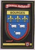 CPM - BLASON ADHESIF - BOURGES - Edition Kroma - Centre-Val De Loire