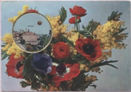 CPM - CARTE PARFUMEE De Luxe VALLAZUR - GRASSE - Parfum Millefleurs De FRAGONARD - Publicité