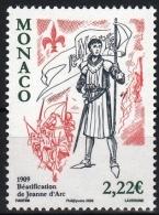 "Monaco YT 2663 "" Jeanne D'Arc "" 2009 Neuf** - Monaco"