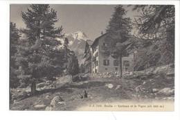 21111 - Arolla Kurhaus Et Le Pigne - VS Valais