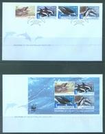 AUSTRALIA  - FDC - 15.5.2009 - DOLPHINS - Yv 3079-3082 BLOC 115 - Lot 18522 - Premiers Jours (FDC)