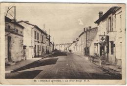 1 Cpa Coutras - La Croix Rouge - France