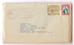 GUATEMALA - COVER TO ITALY - SAN RAF. LAS FLORES - SERVICIO INTER. - STAMPS 1937 - Guatemala