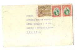 GUATEMALA - COVER TO ITALY - SERVICIO INTERNAZIONAL CORREOS - STAMPS 1937 - Guatemala