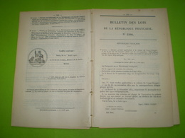 Circulation & Vente D'or Et Douanes De Guyane.Pensionnat Jeunes Filles Martinique.Justice Guinée,Dahomey;Côte D'Ivoire.. - Décrets & Lois