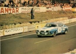 72 . LE MANS . CIRCUIT DES 24 HEURES . FORD CAPRI 2600 RS . 25 JIPE - Le Mans
