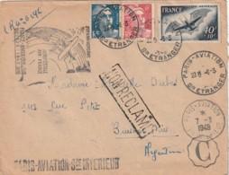 20 Eime Anniversaire Aéropostale Air France Amérique Du Sud - Postmark Collection (Covers)