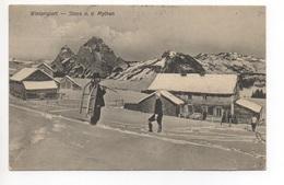 STOOS U.d. Mythen Wintersport Ski Schlitten Gel. 1912 N. Fällanden - SZ Schwyz