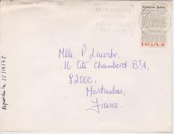 AFRIQUE DU SUD 1975  - ENVELOPPE  AVEC CACHET TYPE DAGUIN - Afrique Du Sud (1961-...)