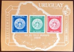Uruguay 1969 Stamp Day Minisheet MNH - Uruguay