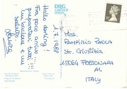 CARTOLINA X ITALIA - 1952-.... (Elisabetta II)