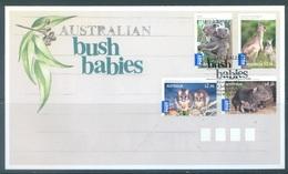AUSTRALIA  - FDC - 1.7.2009 - KOALA WOMBAT KANGOUROU OPOSSUM BUSH BABIES - Yv 3098-3101 - Lot 18524 - Premiers Jours (FDC)
