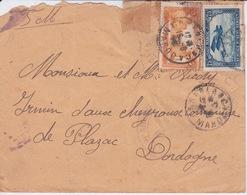 MAROC - CASABLANCA 1926 - CACHET MILITAIRE VAGUEMESTRE DU 64 REGIMENT D'ARTILLERIE - Maroc (1956-...)