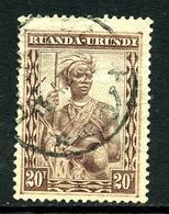 Ruanda-Urundi 1931 COB 106 ° - Ruanda-Urundi