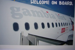 Avion / Airplane / Gambia Bird /  Airbus A319 / Airline Issue / Welcome On Board - 1946-....: Ere Moderne