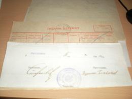 Telegram Nazy Okupation Banat Dolovo Landratsamt Pantschowa Nazy 1940 Telegramm - 1939-45