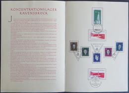 DDR KZ Buchenwald/Ravensbrück Gedenken Ersttagssonderstempel 1956-59 Ex 538-720 - Ohne Zuordnung
