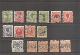Danemark - Antilles Danoises ( Lot De Timbres Divers Oblitérés) - Denmark (West Indies)