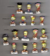Lot 16 Fèves (9 GM Mât + 4 PM Brillants + 3 GM Brillants) Dès 3 Séries Différentes 2000 ANS DE TITI / ALCARA - Cartoons