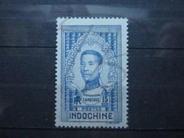 VEND BEAU TIMBRE D ' INDOCHINE N° 187 , XX !!! - Indochine (1889-1945)