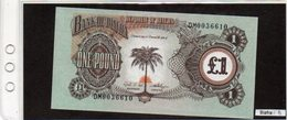 Banconota Biafra,  1 Pound - Autres - Afrique