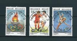 [2138] Zegels 2540 - 2542 Gestempeld - Belgique