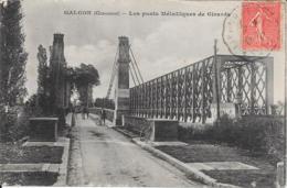 33_Galgon_Les Ponts Métalliques De Girarda - Structures