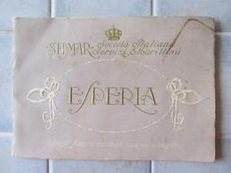 Pub Paquebot Esperia Sitmar Societa Italiana Di Servizi Marittimi - Publicités