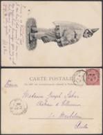 """Tunisie -CP 1903 + Ligne Maritime """" Grosse Juive """" (6G20217) DC1053 - Tunesien"""