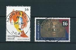 [2138] Zegels 2538 - 2539 Gestempeld - Belgique