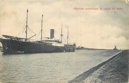 ETR 439 CPA  Navires Traversant Le Canal De Suez    Belle Carte - Suez